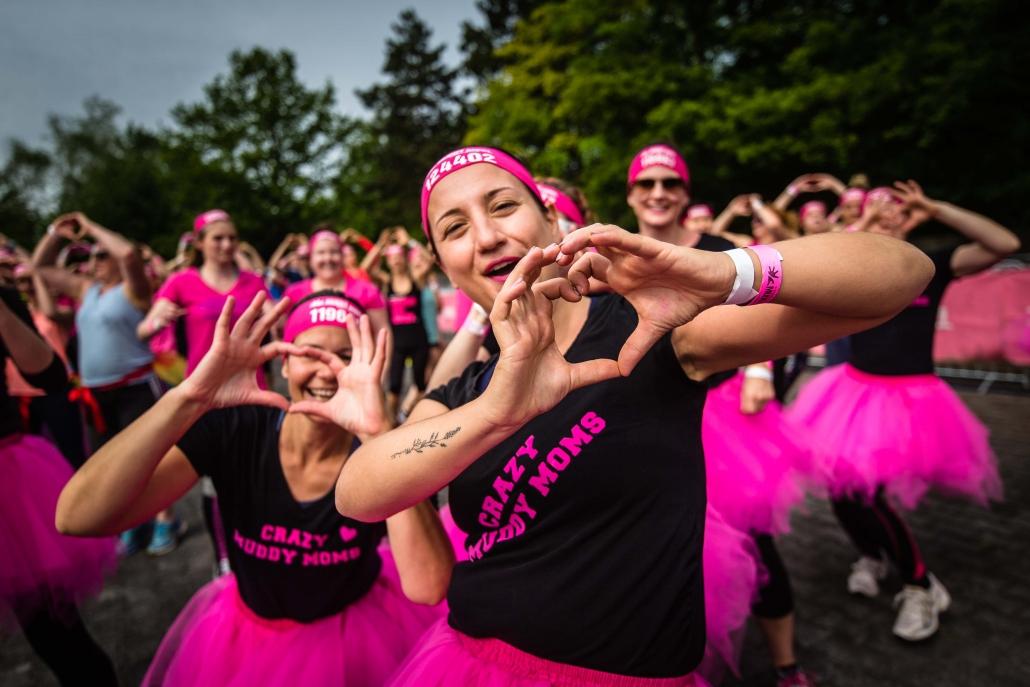 Frauen Herz Pink
